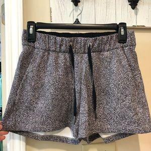 Lululemon shorts, size 4. VGUC